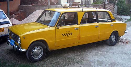 Русский лимузин .