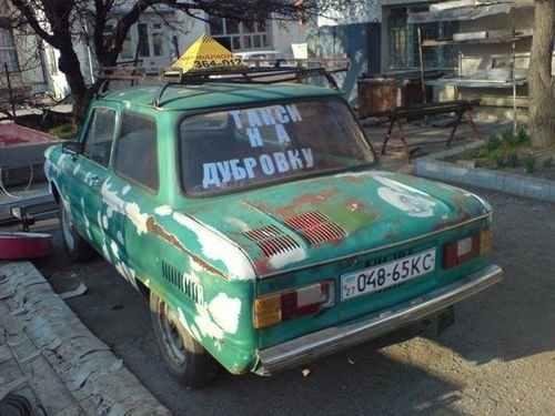 Такси на Дубровку бывает разным ...